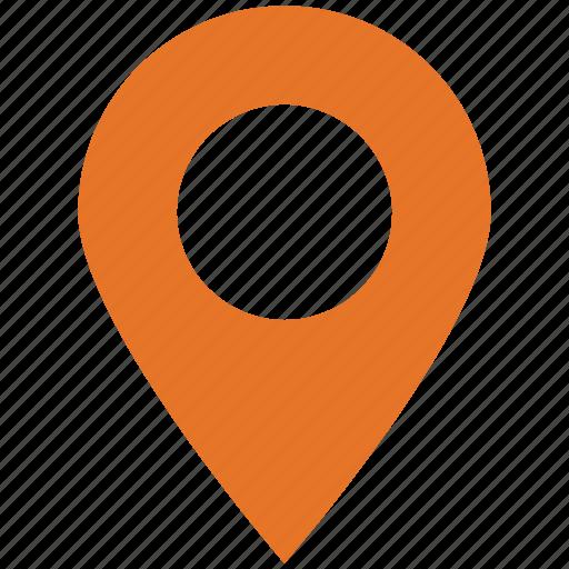gps, locator, navigation, pin icon