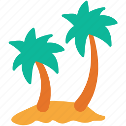 nature, palm trees, trees, tropical trees icon