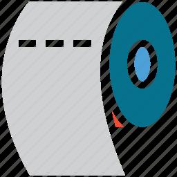 bath, bathroom, hygienic, paper roll icon