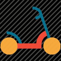 kids scooter, micro scooter, mini micro scooter, retro toy icon