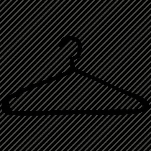 cloth hanger, dress, hanger, laundry icon