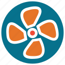 air, cooler, fan, ventilator icon