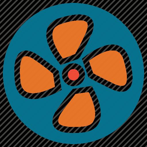 air, cooler, fan, ventilator icon