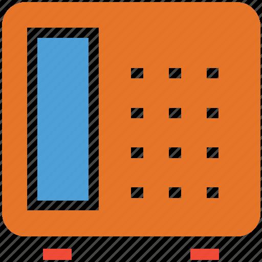 communication, phone, telephone, telephone set icon