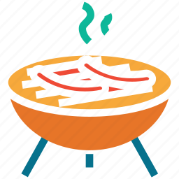 barbecue, bbq, grill, hot food icon