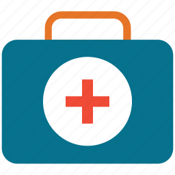 first aid, first aid bag, first aid kit, healthcare icon