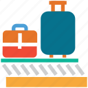 airport, airport custom, custom duty, travel icon