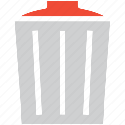 bin, garbage, recycle bin, trash icon
