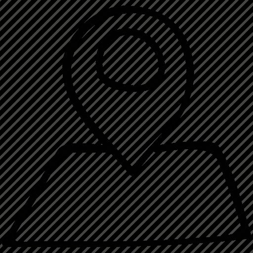 gps, location, locator, pin icon
