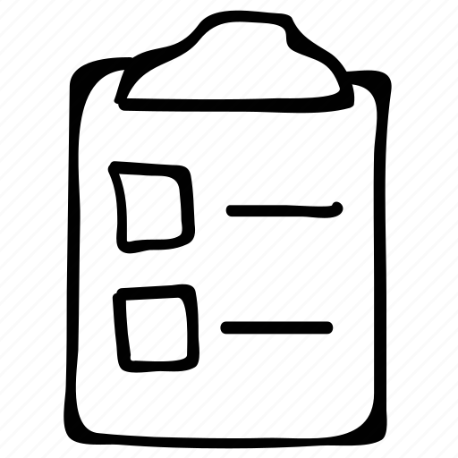 clipboard, document, file, list icon