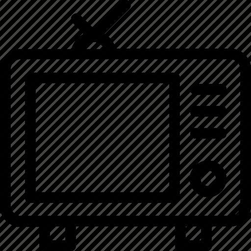 broadcasting, electronics, television, transmission, tv icon