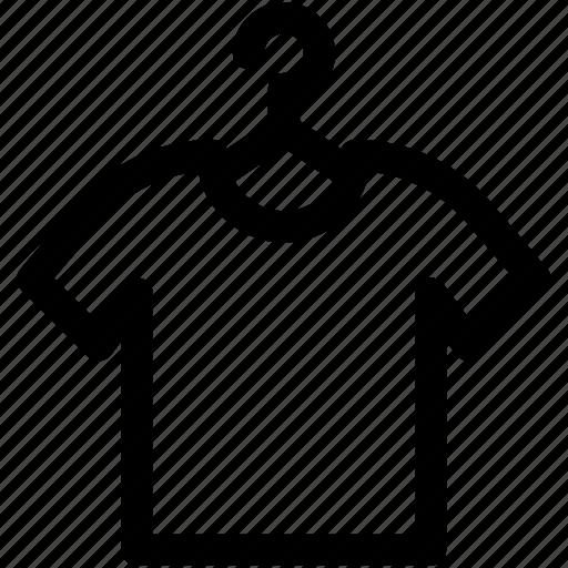 garments, hanger shirt, shirt, t shirt, tee icon
