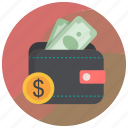 billfold wallet, card holder, coin wallet, purse, wallet
