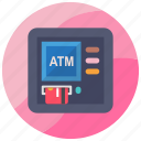 atm, atm machine, automated teller machine, cash machine, cashpoint icon