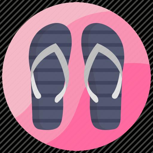 flip flops, footwear, sandales, slippers, sneakers icon