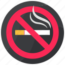 cigarette, no smoking, smoke, smoking, tobacco icon
