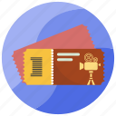 entry, ticket, transportation, travel, vacation icon