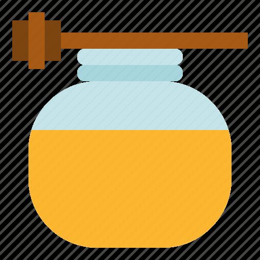 honey, massage, spa, therapy icon