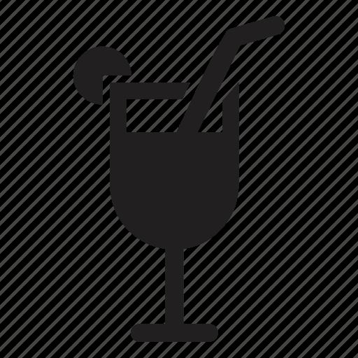 cocktail, drink, enjoy, glass, hotel, transport icon