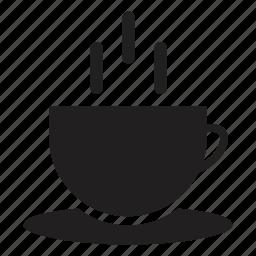 coffee, cup, hot, hotel, tea, transport, warm icon