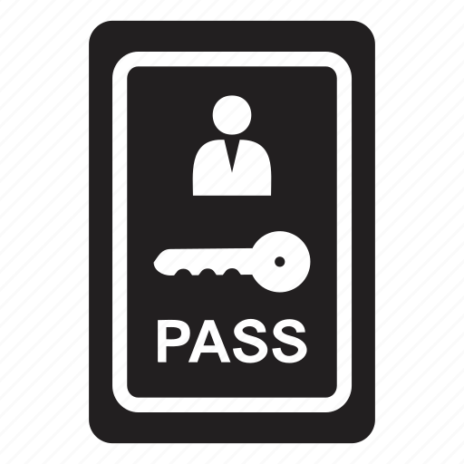 guest, hotel, pass, room, stay, transport icon