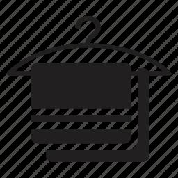 dry, hanger, hotel, towel, transport icon