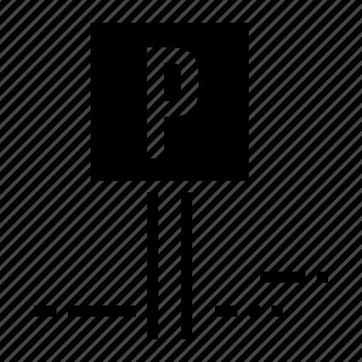 car, hotel, information, parking, road, sign, transport icon