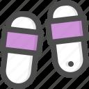 flip, flops, footwear, hotel, sandals, slippers