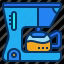 coffee, drip, kitchen, machine, maker