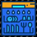 appliance, cleaning, dishwasher, kitchen, machine icon