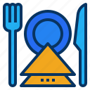 cafe, dinner, food, meal, restaurant icon