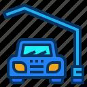 car, garage, lot, parking, service icon