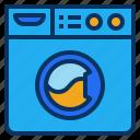 cleaning, laundry, machine, washer, washing icon