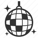 ball, dance, disco, event, light, nightclub, party icon