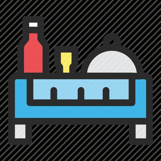 food, gastronomy, hotel, restaurant, service icon