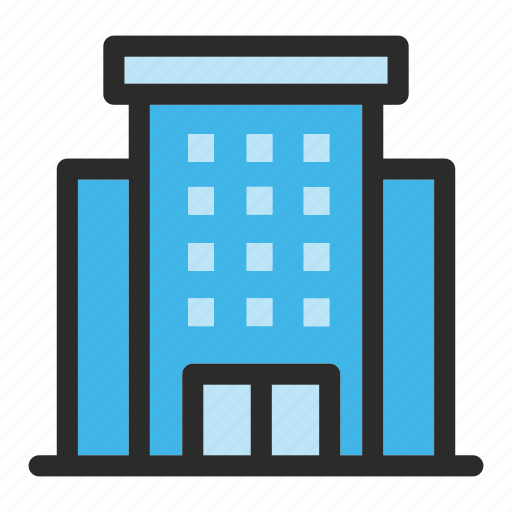 apartment, architecture, building, city, construction, hotel, property icon