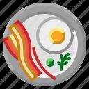 breakfast, dish, food, meal, morning