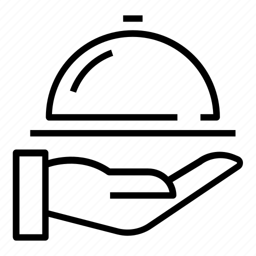 Dinner, lunch, waiter icon - Download on Iconfinder
