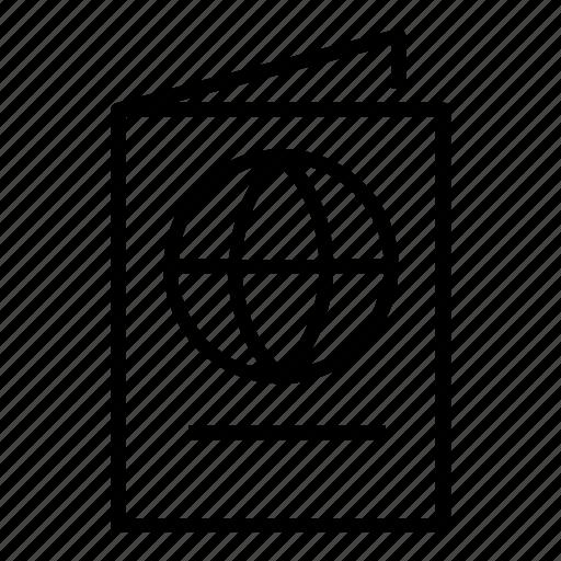 Document, pass, passport icon - Download on Iconfinder