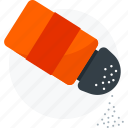 condiment, food, salt, seasoning, spice icon icon