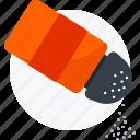 condiment, food, salt, seasoning, spice icon icon