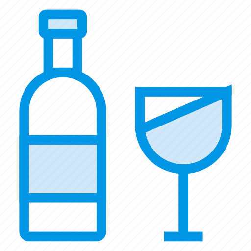 alcohol, beer, bottle, champagne, drinking, glass, wine icon