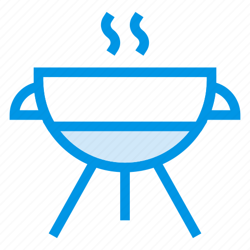 barbecue, grill, kitchen, meal, roaster, smoking, tool icon