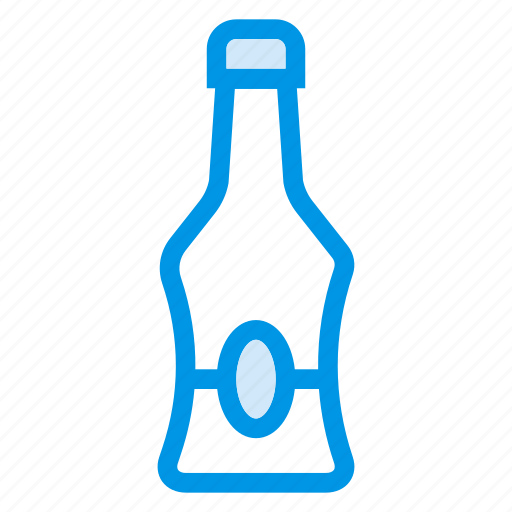 Alcohol, drink, bottle, party, champagne, milk, wine icon