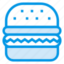 burger, eat, eating, fastfood, food, hamburger, restaurant icon