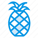 cooking, food, fruit, groceries, healthy, pineapple, sweet icon