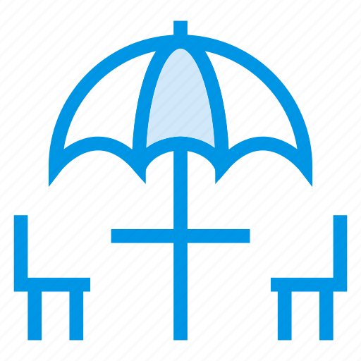 chairs, dining, diningtable, furniture, hotel, restaurant, table icon