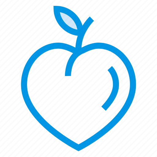 apricot, food, fresh, fruit, healthy, peach, sweet icon