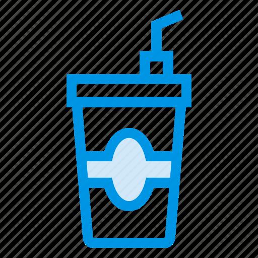 cola, glass, juice, milk, soda, water, wine icon