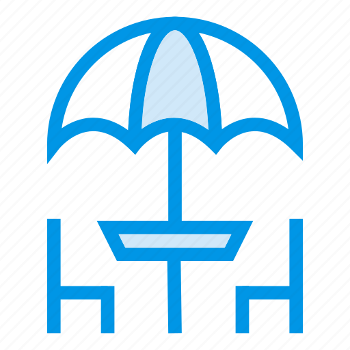 bartable, chairs, dining, furniture, hotel, restaurant, table icon
